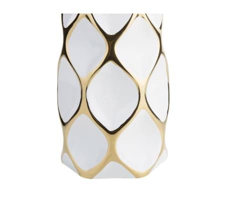 Vase en céramique blanche AVILA[4/10]