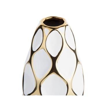 Vase en céramique blanche AVILA[3/10]