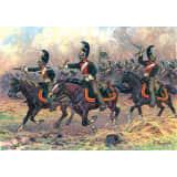 Figurines Militaires : Dragons Russes à cheval 1812-1814