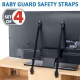 Tatkraft, Protect, Sicherheitsgurte für TV/Möbel