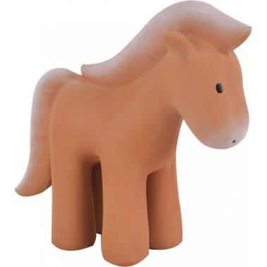 Tikiri bijt- en badspeeltje met rammelaar paard junior 12 cm[1/3]