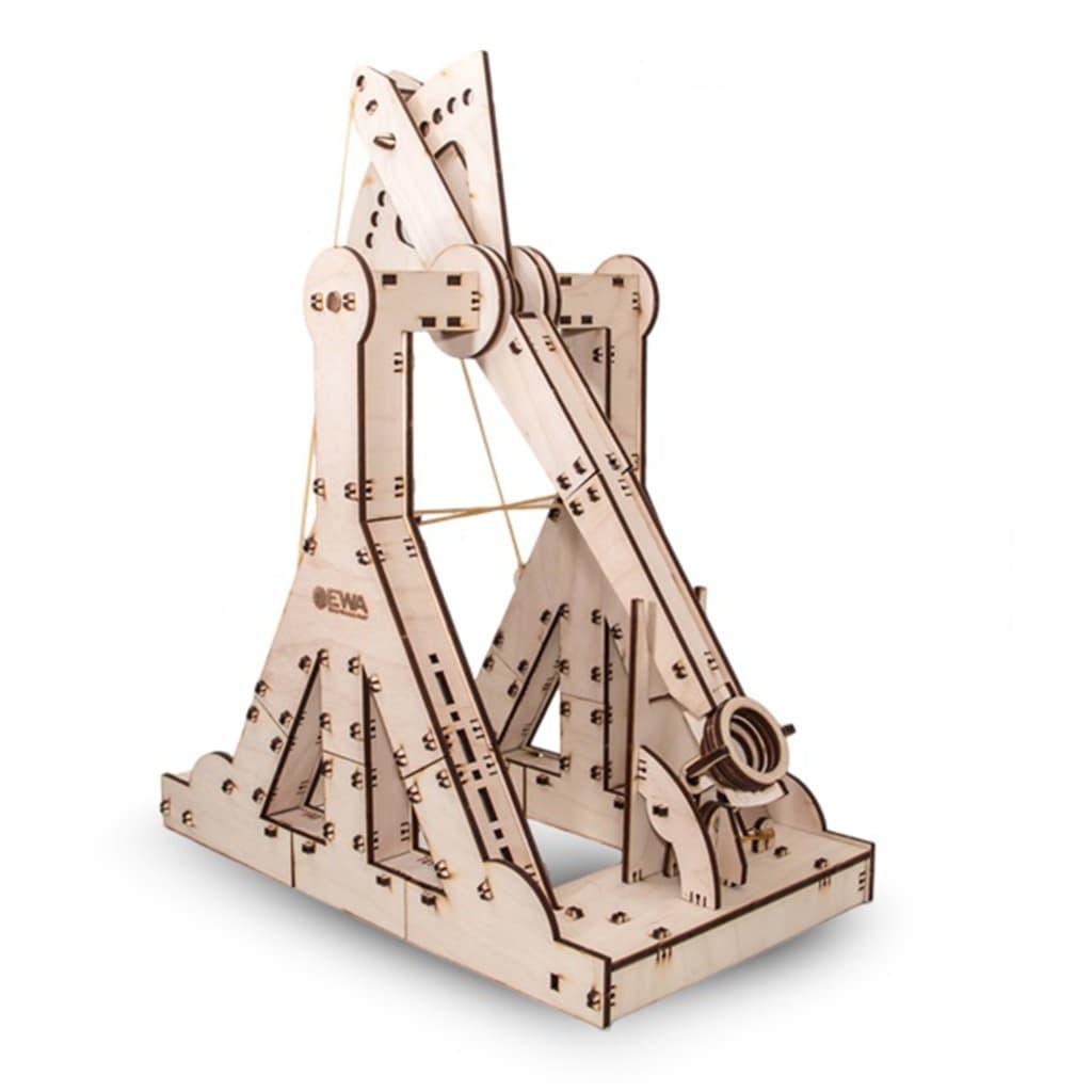 Eco-Wood-Art 94-tlg. Modellbausatz Holz Blide
