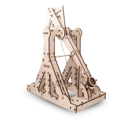 Eco-Wood-Art 94-delige Schaalmodelset Trebuchet hout
