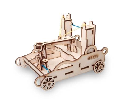 Eco-Wood-Art Kit de maquette 55 pcs Ballista Bois