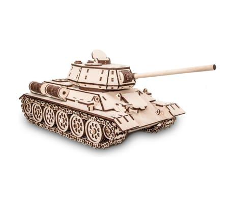 Eco-Wood-Art Kit de maquette 600 pcs T-34 Tank Bois[1/11]