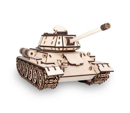 Eco-Wood-Art Kit de maquette 600 pcs T-34 Tank Bois[2/11]