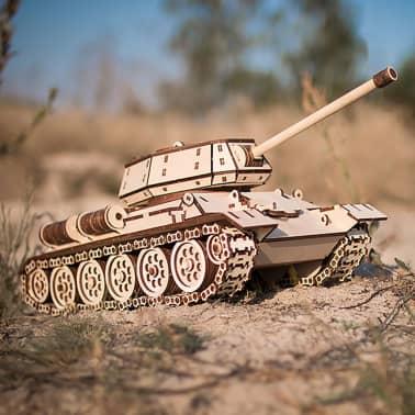 Eco-Wood-Art Kit de maquette 600 pcs T-34 Tank Bois[5/11]