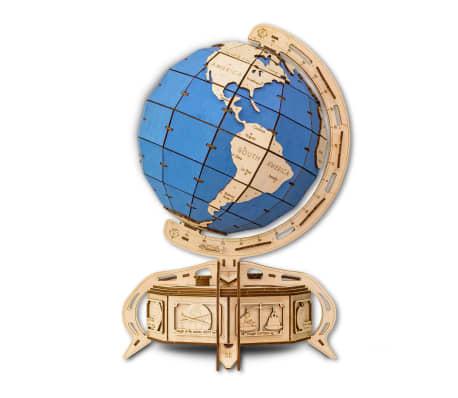 Eco-Wood-Art 393-częściowy, drewniany zestaw modelarski Globus[1/15]