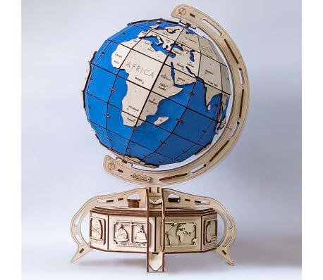 Eco-Wood-Art 393-częściowy, drewniany zestaw modelarski Globus[2/15]