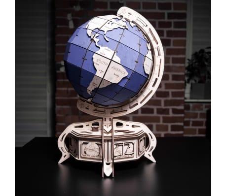 Eco-Wood-Art 393-częściowy, drewniany zestaw modelarski Globus[13/15]