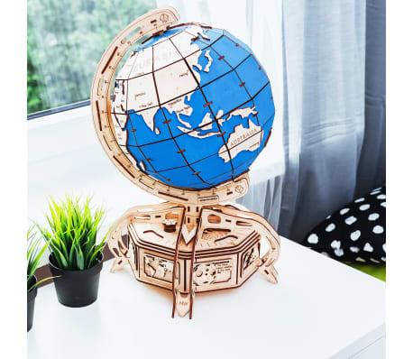 Eco-Wood-Art 393-częściowy, drewniany zestaw modelarski Globus[3/15]