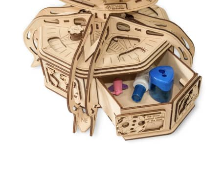 Eco-Wood-Art 393-częściowy, drewniany zestaw modelarski Globus[6/15]