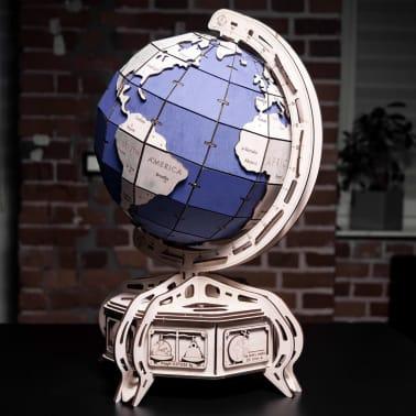 Eco-Wood-Art 393-częściowy, drewniany zestaw modelarski Globus[12/15]