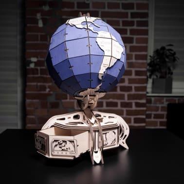 Eco-Wood-Art 393-częściowy, drewniany zestaw modelarski Globus[14/15]