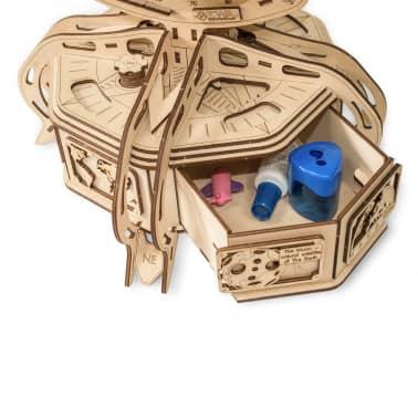 Eco-Wood-Art 393-częściowy, drewniany zestaw modelarski Globus[9/15]