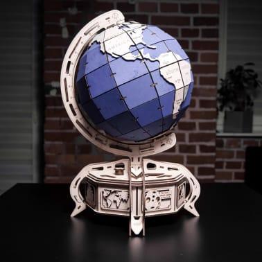 Eco-Wood-Art 393-częściowy, drewniany zestaw modelarski Globus[10/15]
