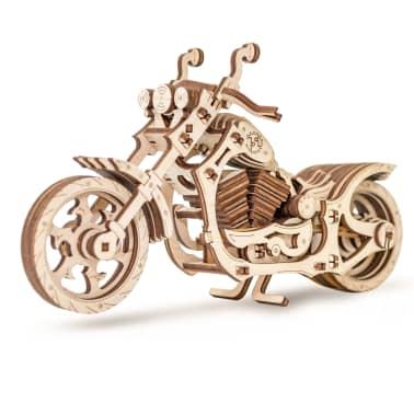 Eco-Wood-Art 152-częściowy, drewniany zestaw modelarski Motocykl[1/12]