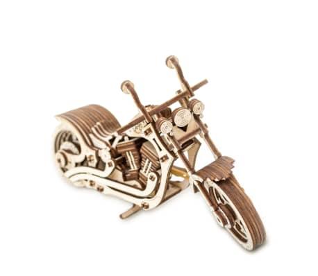Eco-Wood-Art 152-częściowy, drewniany zestaw modelarski Motocykl[3/12]