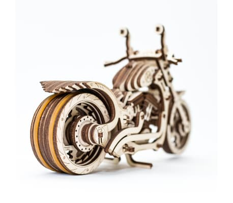 Eco-Wood-Art 152-częściowy, drewniany zestaw modelarski Motocykl[4/12]