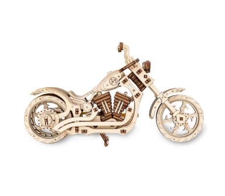 Eco-Wood-Art 152-częściowy, drewniany zestaw modelarski Motocykl[5/12]