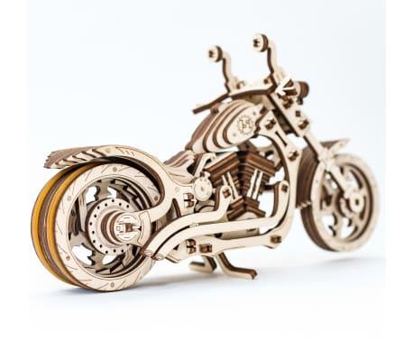 Eco-Wood-Art 152-częściowy, drewniany zestaw modelarski Motocykl[7/12]