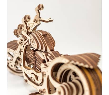 Eco-Wood-Art 152-częściowy, drewniany zestaw modelarski Motocykl[9/12]