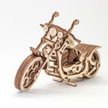 Eco-Wood-Art 152-częściowy, drewniany zestaw modelarski Motocykl[12/12]