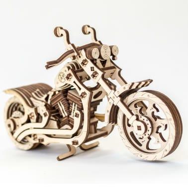 Eco-Wood-Art 152-częściowy, drewniany zestaw modelarski Motocykl[8/12]