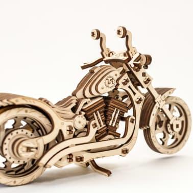 Eco-Wood-Art 152-częściowy, drewniany zestaw modelarski Motocykl[10/12]