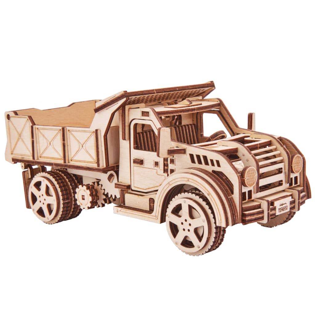 Wood Trick Kit machetă de camion, lemn vidaxl.ro