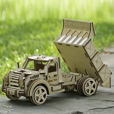Wood Trick Kit de maquette Bois Modèle Camion[12/17]