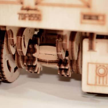Wood Trick Kit de maquette Bois Modèle Camion[9/17]