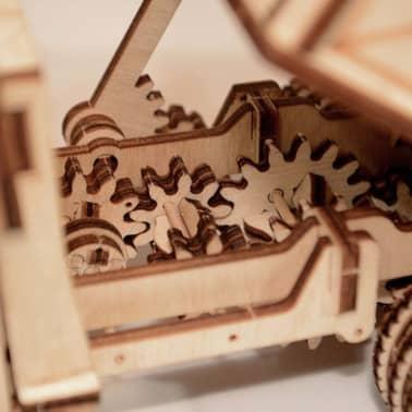 Wood Trick Kit de maquette Bois Modèle Camion[10/17]