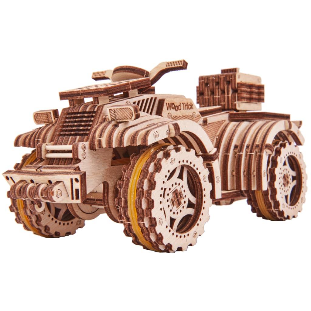 Wood Trick Kit machetă de ATV, lemn vidaxl.ro