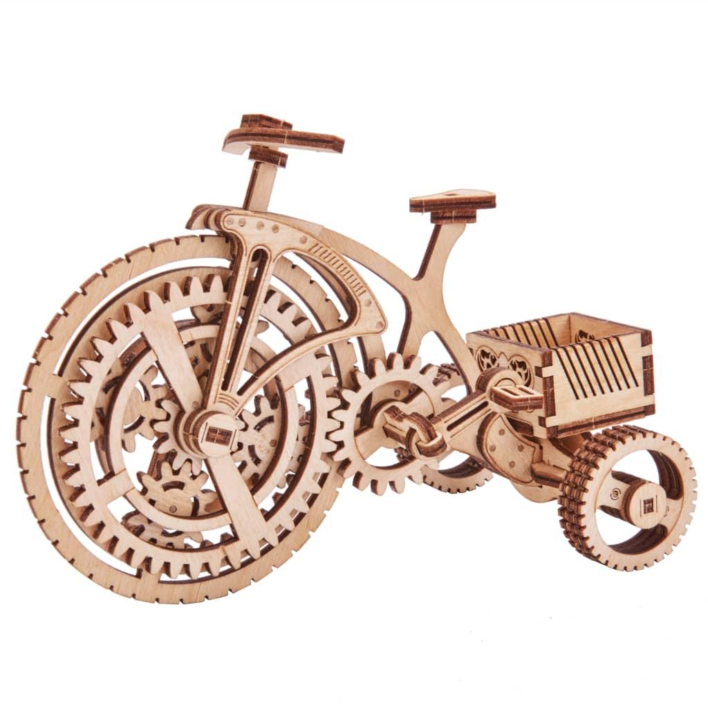 Wood Trick Kit machetă de bicicletă, lemn vidaxl.ro