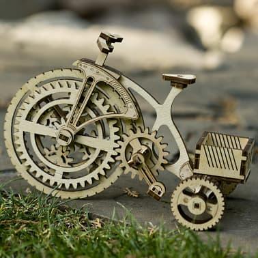 Wood Trick Kit de maquette Bois Modèle Vélo[10/15]