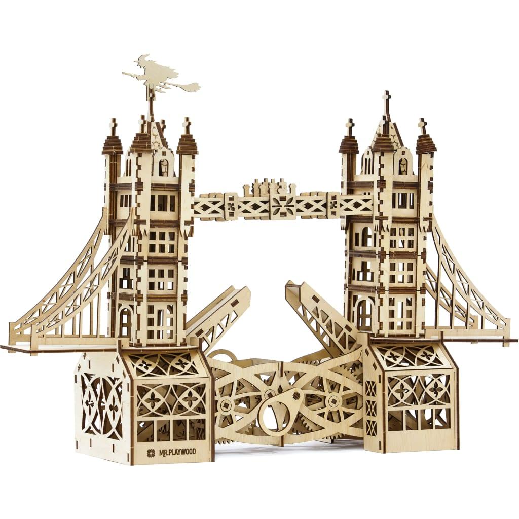 Mr. PlayWood Modellbausatz Tower Bridge 312-tlg. Holz
