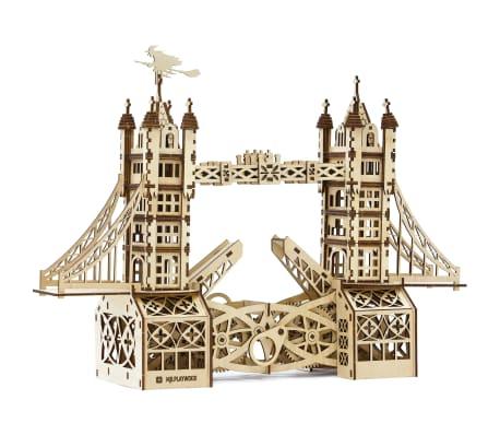 Mr. PlayWood Kit de maquette Pont de la tour Bois 312 pcs[1/8]