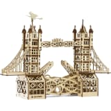 Mr. PlayWood Kit de maquette Pont de la tour Bois 312 pcs
