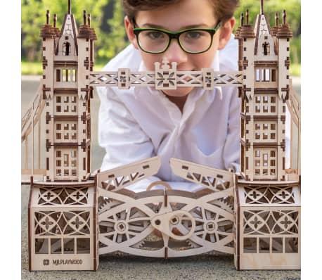 Mr. PlayWood Kit de maquette Pont de la tour Bois 312 pcs[3/8]
