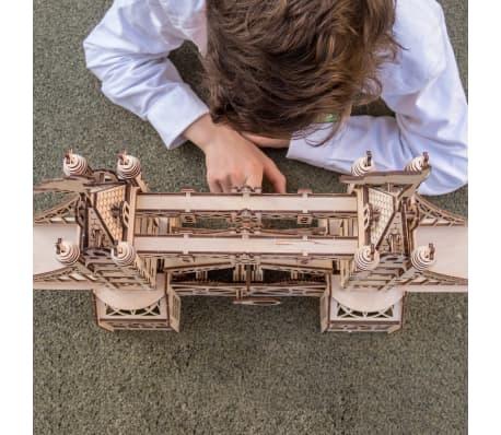Mr. PlayWood Kit de maquette Pont de la tour Bois 312 pcs[5/8]