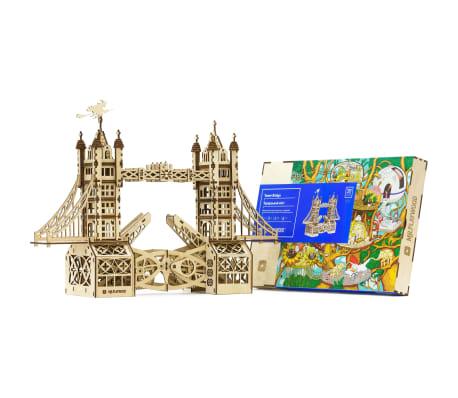 Mr. PlayWood Kit de maquette Pont de la tour Bois 312 pcs[7/8]