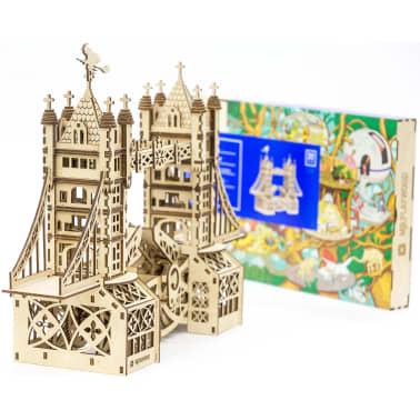 Mr. PlayWood Kit de maquette Pont de la tour Bois 312 pcs[6/8]