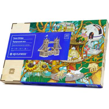 Mr. PlayWood Kit de maquette Pont de la tour Bois 312 pcs[8/8]