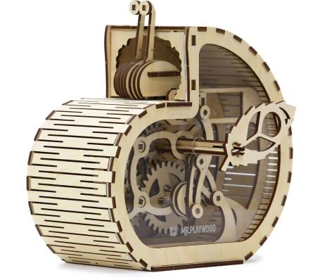 Mr. PlayWood Kit de maquette Tirelire d'escargot Bois 83 pcs[1/8]