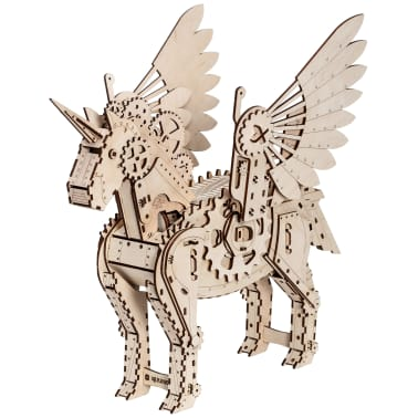 Mr. PlayWood Kit de maquette Licorne Bois 156 pcs[1/8]