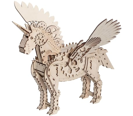 Mr. PlayWood Kit de maquette Licorne Bois 156 pcs[2/8]