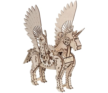 Mr. PlayWood Kit de maquette Licorne Bois 156 pcs[4/8]