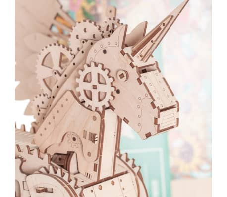 Mr. PlayWood Kit de maquette Licorne Bois 156 pcs[5/8]