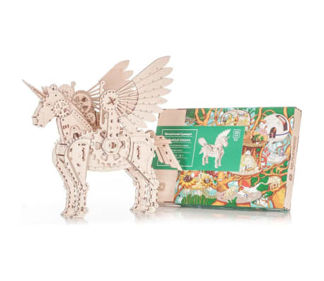 Mr. PlayWood Kit de maquette Licorne Bois 156 pcs[7/8]
